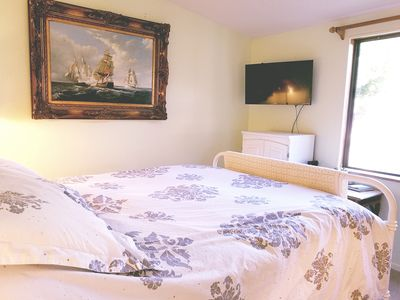Photo for Home on the Trinity River,  Bedroom and Private Bathroom in my home with me!