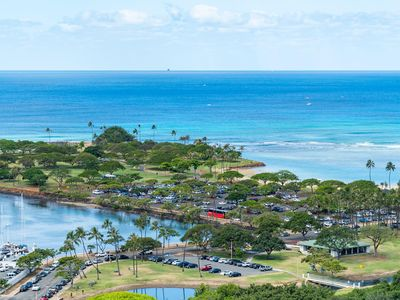 Photo for 25th Floor Great Ocean View from Hotel! Ala Moana! (AH13)