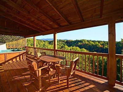 Photo for WE ARE OPEN! 3BR/2BA Mountain Views in Pigeon Forge, 15 mins from Gatlinburg