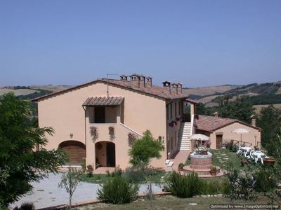 Photo for farmhouse to rent near Siena, Tuscan home to let, holiday rental Tuscany