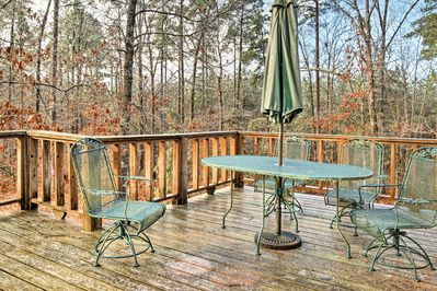 With 2 decks and 1 acre of land, this home will be your favorite place to relax.
