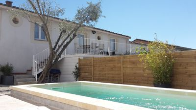 Photo for cottage with private pool and heated in near Cap d'Agde area
