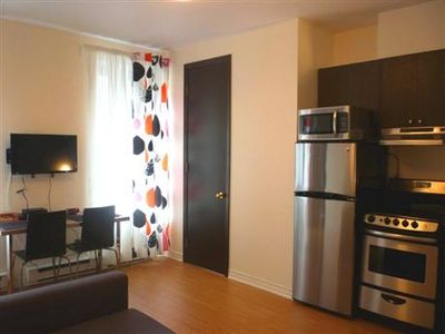 Renovated unit. Photos will be available shortly.