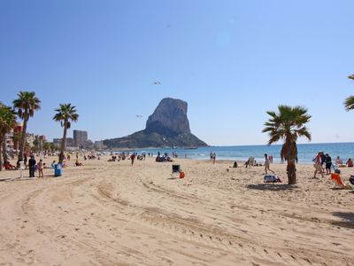 Photo for One bedroom Apartment, sleeps 3 in Calpe with Air Con and WiFi