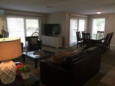 Spacious Living area with second dining/game table