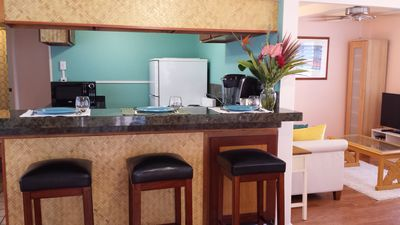 Photo for Perfect Kailua location! 2 blocks to beach!  Kitchen, W/D, A/C