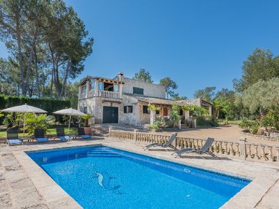 Photo for 3 bedroom Villa, sleeps 6 in Sencelles with Pool, Air Con and WiFi