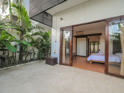 Photo for Sanur Private room 104 with terrace and kitchen