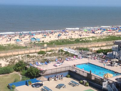 Photo for Oceanfront - Pool open thru 9/30 - Free WiFi - HDTV