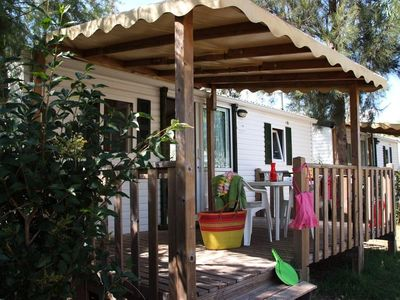 Photo for Camping Les Palmiers **** - Mobile home Colorado 3 Rooms 6 People