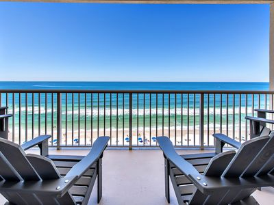 Photo for ☼Majestic Beach 1-1006☼ 1BR+Bnks -GULF FRONT-5 Pools! July 28 to 31 $1033 Total!