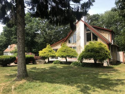 Photo for Summer Relaxing on expansive decks, large yard, minutes from the beach!