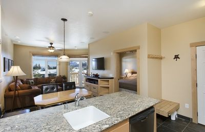 Photo for Luxury 1 Bedroom 1 Bath Ski In Ski Out with Great View