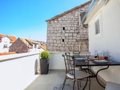 Photo for Hidden gem in the ❤ of Trogir with Balcony