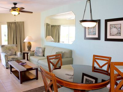 Photo for INCREDIBLE 2BR/2BA WITH GULF VIEW, POOL, BAR, RIGHT ON THE BEACH