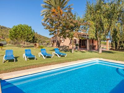 Photo for Villa Binia is a beautiful villa located in the countryside of Alcudia, only ten minutes away by car