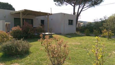Photo for CONTEMPORARY VILLA 80 M2 10 minutes from the beaches of Palombaggia