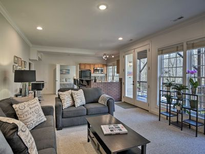 Photo for NEW! Cary Apartment w/Deck & Fire Pit Near RTP!