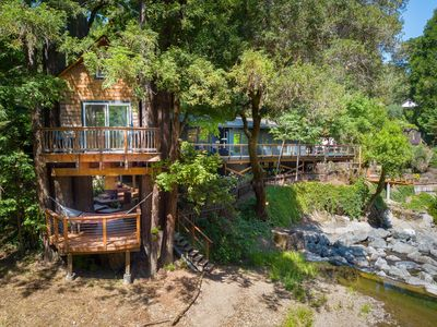 Photo for A redwood retreat in the heart of Sonoma County wine country.