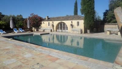 Photo for Alpilles - beautiful recent mas of standing - private pool and free wifi