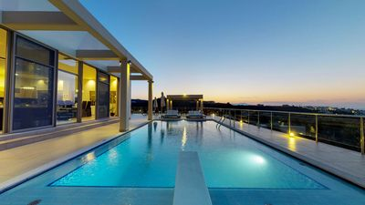 Photo for Luxury 6BR Seaview Villa In Agia Marina Chania