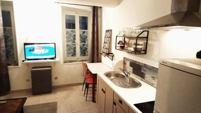Photo for Cute studio / t2 close to the old port, and 20 minutes walk from the beaches
