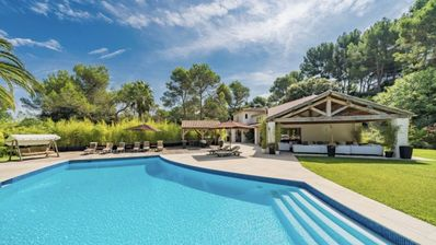 Photo for MOUGINS - IN A RESIDENTIAL DOMAIN