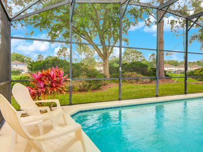 Photo for Golf Course Views – Heatable Pool – Lanai – Games Room – Vaulted Ceilings