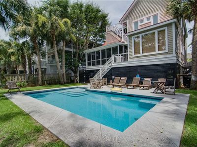 Photo for Book Soon For New Lower Rates! Great 4 Bedroom Home Close to the Beach w/ Private Pool