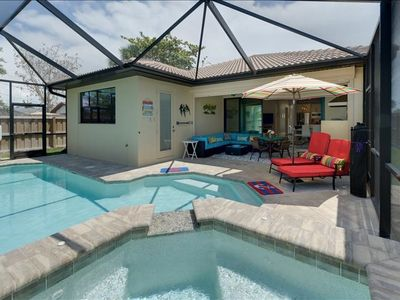 Photo for Oct & Nov Special ** ONLY $285 a night ** Modern Pool & Spa Home
