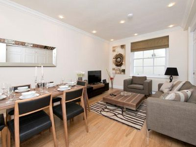Photo for Modern 2 bed 2 bath Mayfair Apartment in near Oxford street