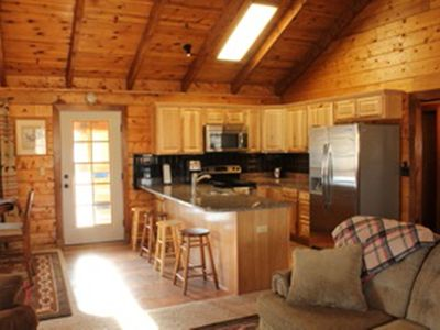 Photo for Lost Eagle Ranch Log Cabin, Close To Dining, Skiing, Pet Friendly