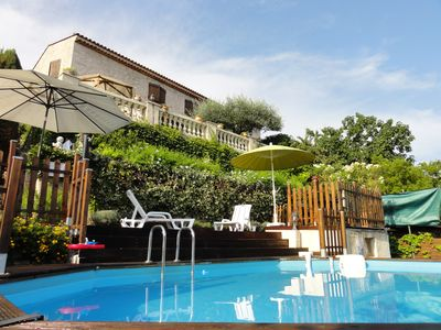 Photo for Villa with private pool and garden, 5 km from the sea
