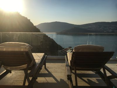 Photo for EXCLUSIVE Villa Yar Jacuzzi & Private Pool Stunning Sea Views Sleeps 12