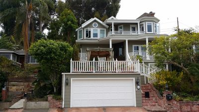 Photo for Laguna Beach Victorian House with Ocean View Vacation Rental