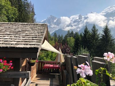 Photo for The Mazot, mini chalet ideal for 2 people. Exceptional view