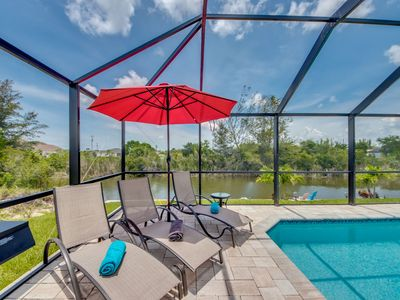 Photo for Beautiful Pool- Great Location- Villa Tropical Landing-Cape Coral -FL