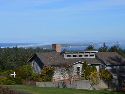 Photo for Ocean & Bay View, High Hill Retreat