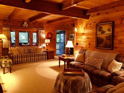 Photo for UPDATED BLUE RIDGE CABIN near Linville Falls, Table Rock & Grandfather Mtn