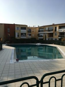 Photo for Apartment T3 in CASSIS, Swimming pool, garden, parking