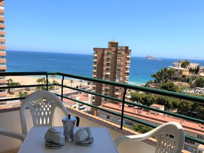 Photo for Sea-view Apartments in Benidorm, 3 min walking from the beach
