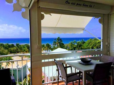 Photo for 180 ° PANORAMIC SEA VIEW AND DIRECT BEACH ACCESS