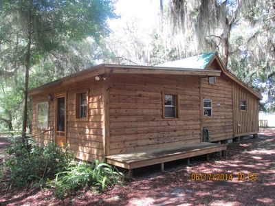 Photo for 1 Bed 1 Bath Pet Friendly Cracker Style Cabin in Historic Orange Springs Florida