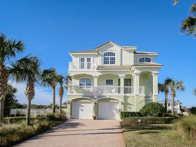 Photo for Bright & airy waterfront home w/ private pool , close to beaches
