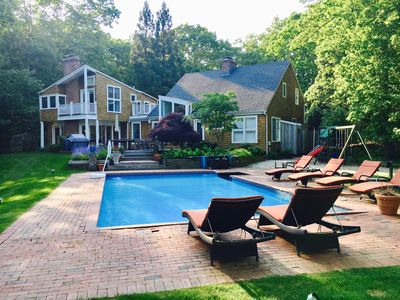 Photo for Pool, Tennis, Pond, Privacy on 4 acres: Bridgehampton
