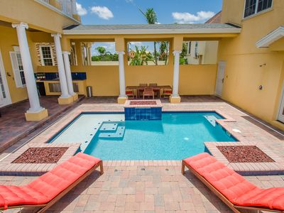 Photo for Reunion Resort Golf View Pool Home With Private Garage Apartment-Must See!