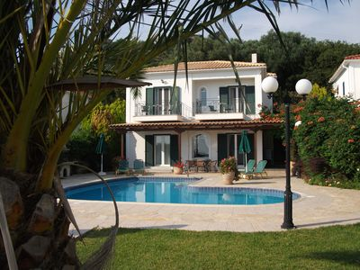 Photo for Villa Eleni is a private 2 storey family villa in Kefalonia with its own pool.