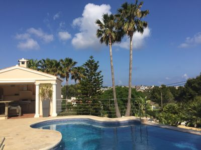 Photo for B & B with sea view for max. 8 people, swimming pool, Calpe
