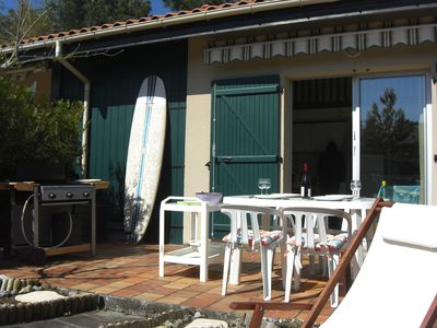 Photo for House at Hourtin Port close to lake, beach & restaurants