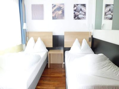 Photo for Quadruple Room with Shower, Toilet - BinderS Budget City-Mountain Hotel